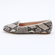 TAB SHOES(SNAKE LEATHER) 0012